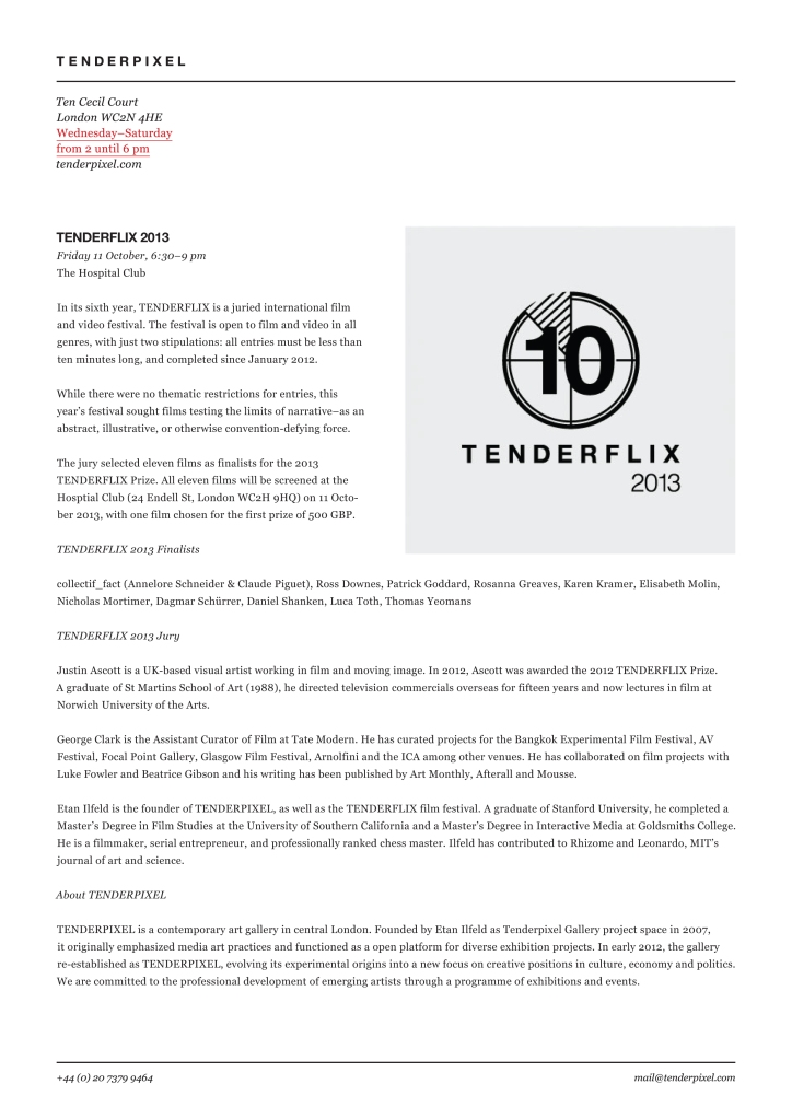 13-tenderpixel_tenderflix2013pr.indd